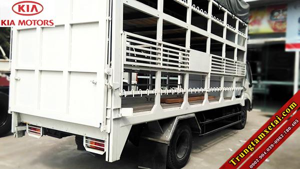 Bửng nâng thùng xe tải chở xe máy 2 tần-trungtamxetai.com