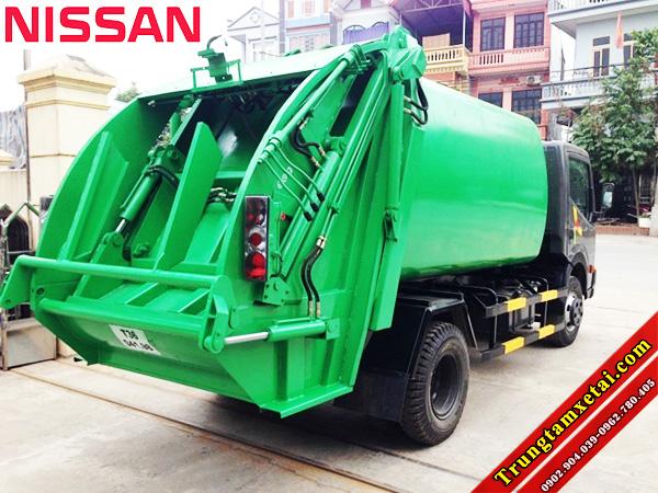 Xe ép chở rác Veam VT652 7 khối 3T5 trungtamxetai.com