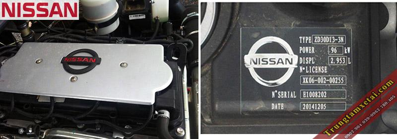 Động cơ Nissan Xe Ép Rác Veam VT652 7 khối-trungtamxetai.com