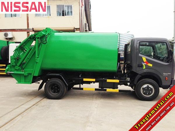 Xe ép rác 7 khối Veam VT652 3T5-trungtamxetai.com