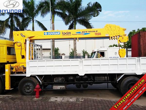 Xe tải gắn cẩu Soosan chuyên dụng 5 khúc-trungtamxetai.com