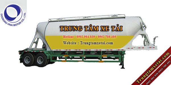 Sơ Mi Rơ Mooc Xitec Chở Bột Mỳ 40 khối 2 trục Doosung-trungtamxetai.com
