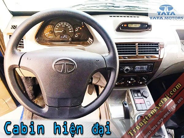 Cabin-noi-that-xe-ben-tmt-tata-990kg-super-ace-An-Do-gia-re-trungtamxetai.com